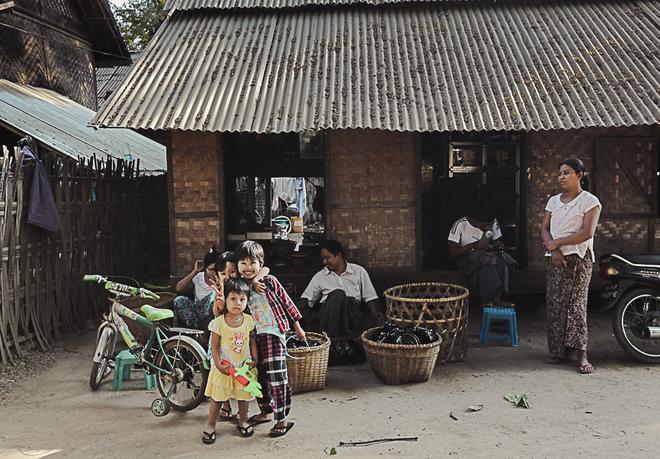 Bagan cổ kính cùng những nét đẹp chân phương