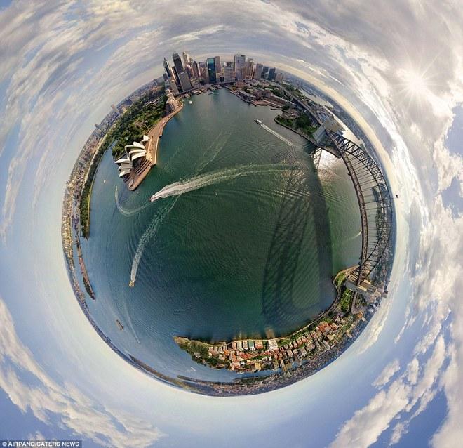 Hình dạng hành tinh độc đáo của các thành phố nổi tiếng thế giới