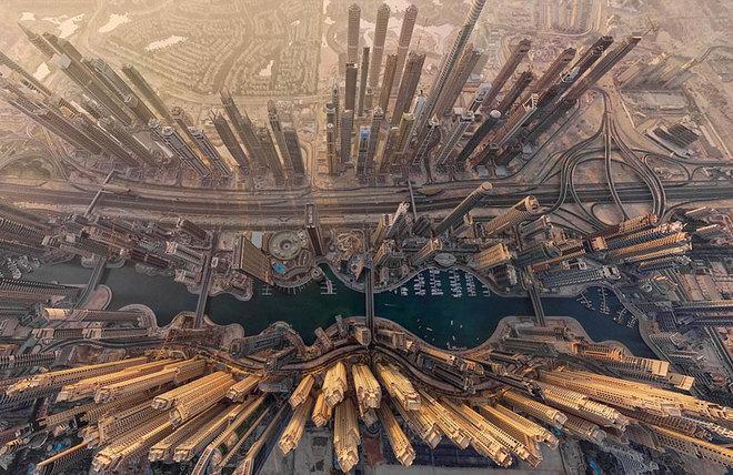 Vẻ đẹp ngoạn mục của các danh thắng thế giới nhìn từ phi cơ