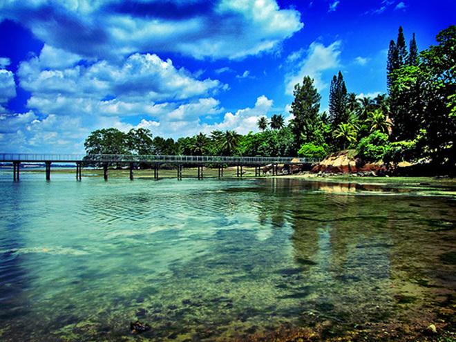 Những hòn đảo sống giữa thành phố đẹp nhất thế giới