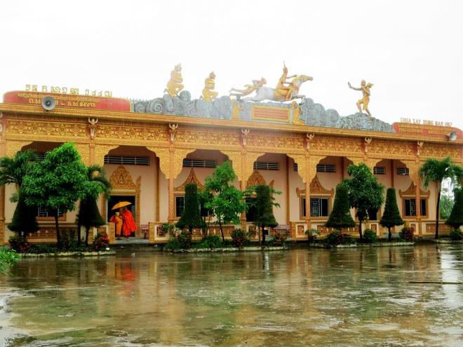 Những ngôi chùa cổ với kiến trúc độc đáo của miền tây sông nước