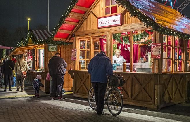 Hội chợ giáng sinh lộng lẫy ở berlin