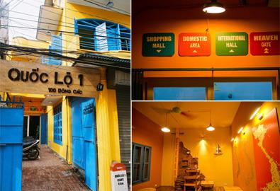 đại bản doanh của dân yêu du lịch - quán cafe quốc lộ 1