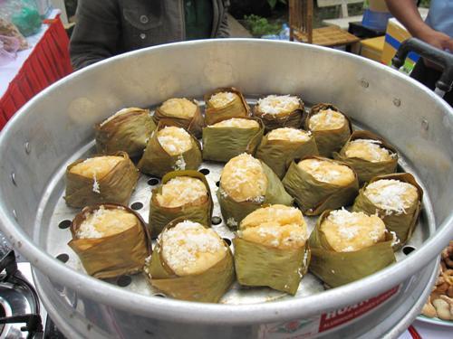 Ấn tượng bánh bò thốt nốt đặc sản vùng bảy núi