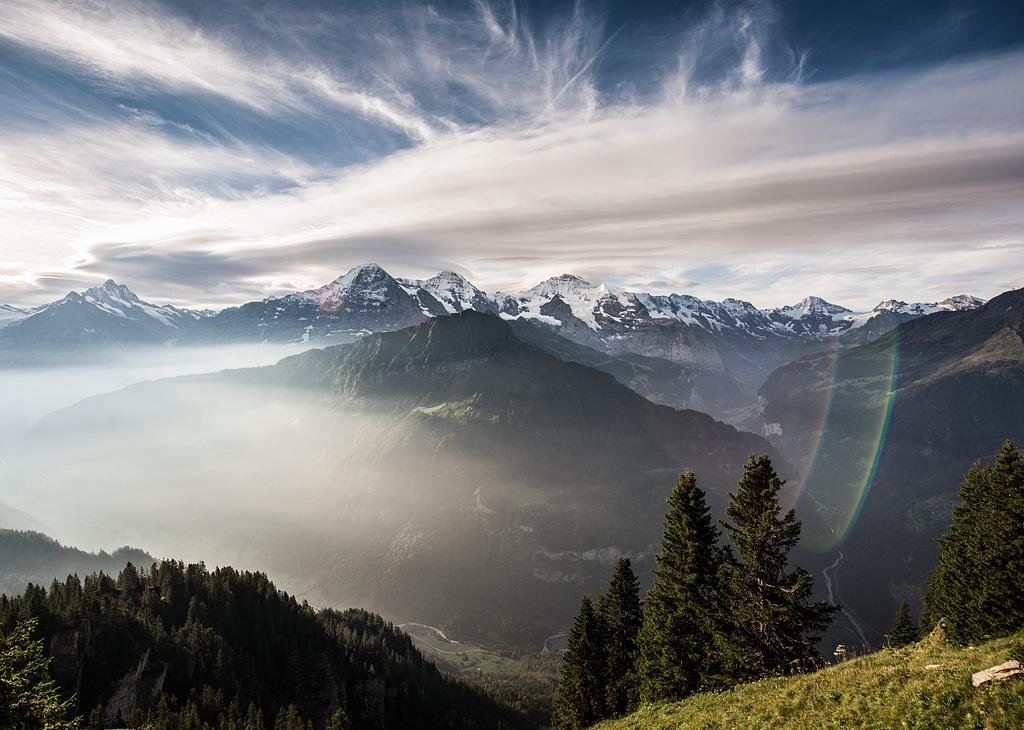 Chuyến xe lửa chạm đến thiên đường tuyết trắng jungfraujoch