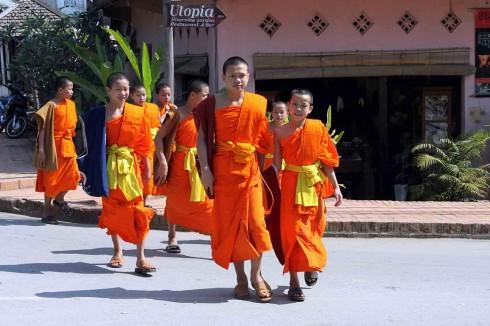 Luang prabang thành phố của các ngôi chùa