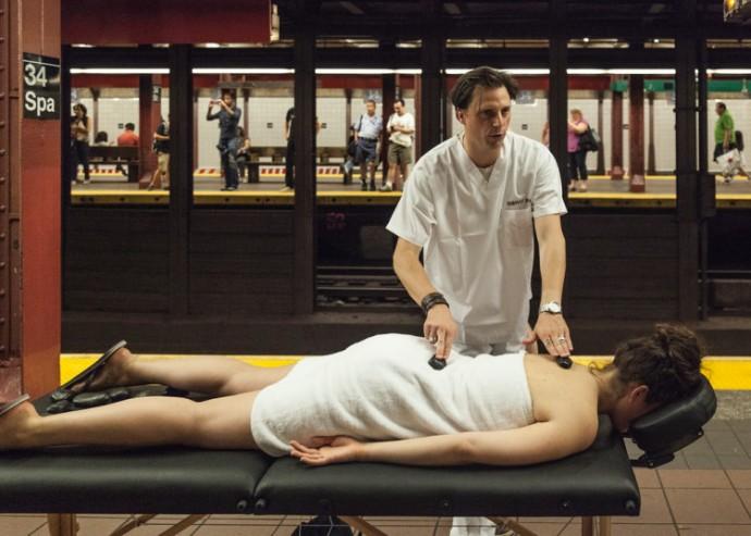 Sốt với dịch vụ spa khỏa thân ở new york