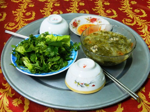 Thịt dông món ngon trong ẩm thực chăm