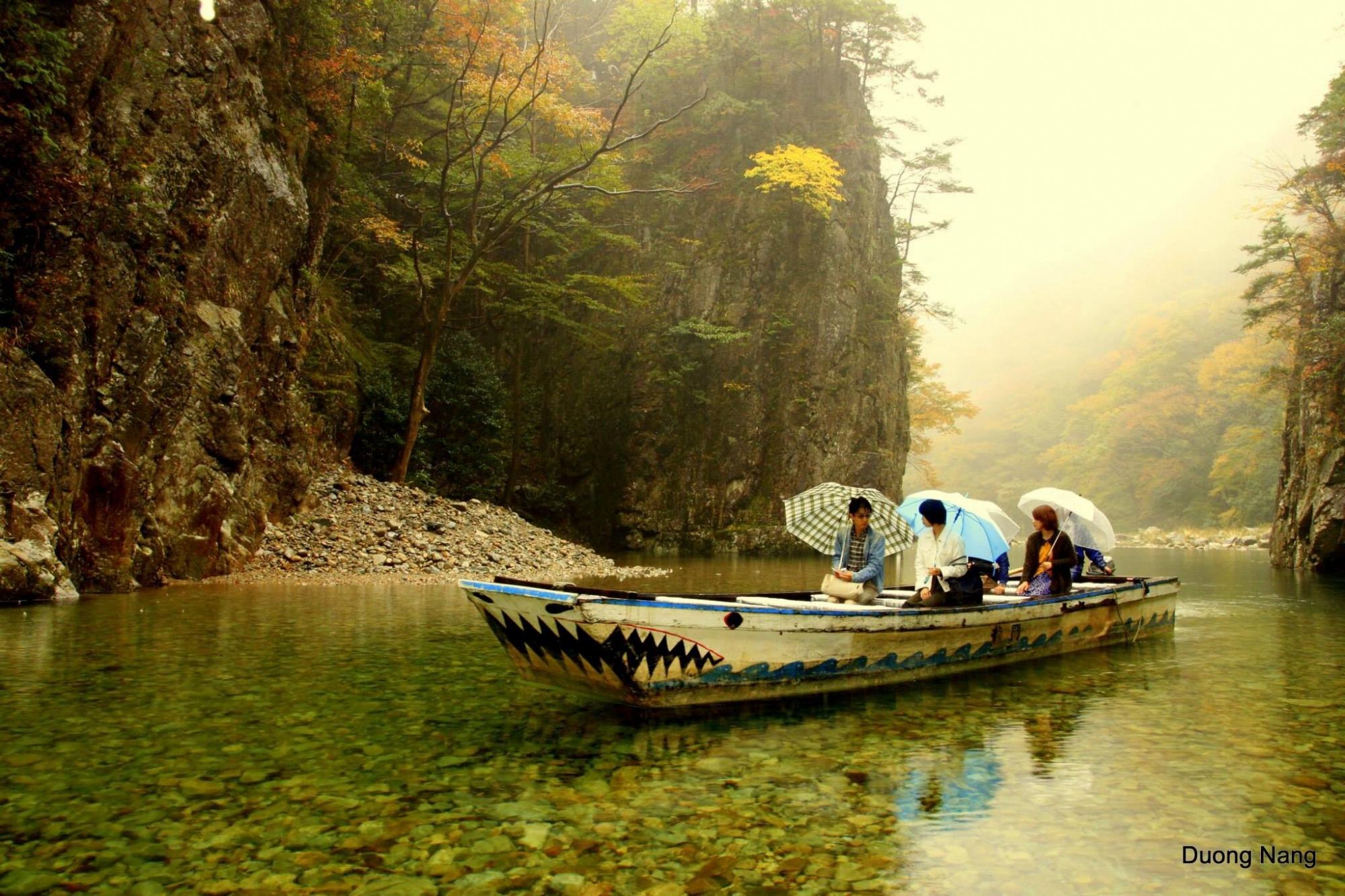 Tìm nét đẹp mùa thu vàng châu á