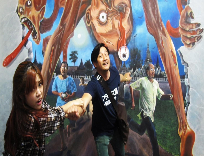 Bảo tàng nghệ thuật 3d ở thái lan - thiên đường chụp ảnh