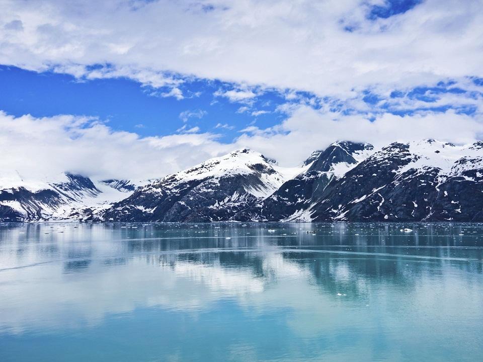 Ngắm cảnh đẹp như tranh vẽ ở alaska mỹ