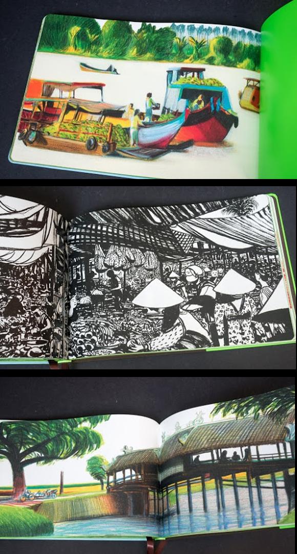 Ngắm việt nam tuyệt đẹp qua trang sách louis vuitton travel