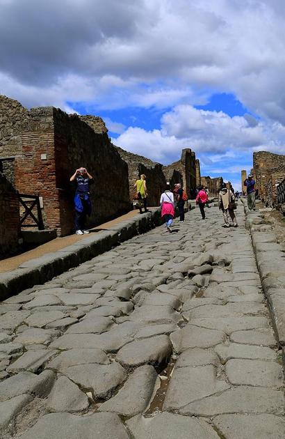 Pompeii thành phố của những cuộc chia tay rất dài