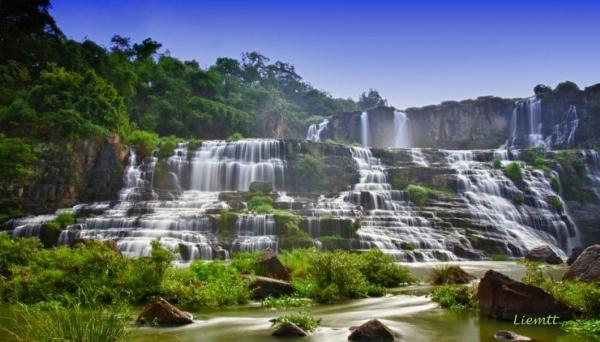 Vẻ đẹp của pongour thác nước đẹp nhất đông dương ở vn