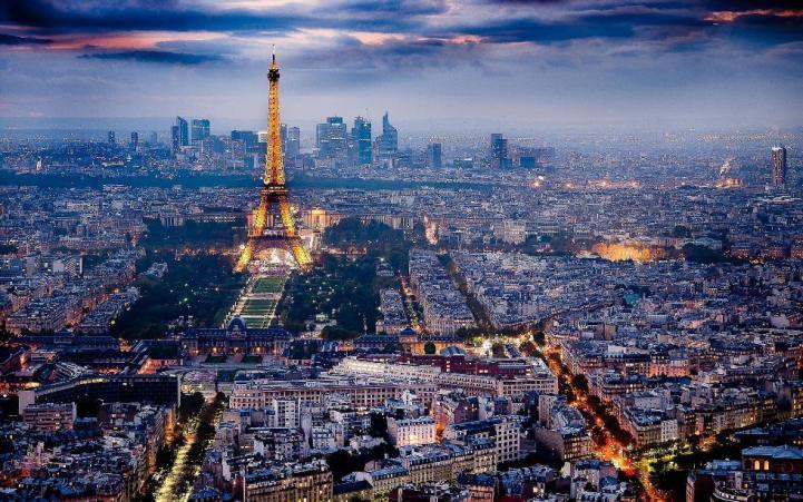 10 điểm đến lãng mạn theo đường bay của air france