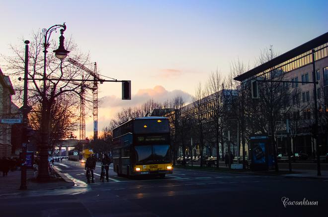 Berlin thủ đô nước đức đẹp yên bình những ngày đầu đông