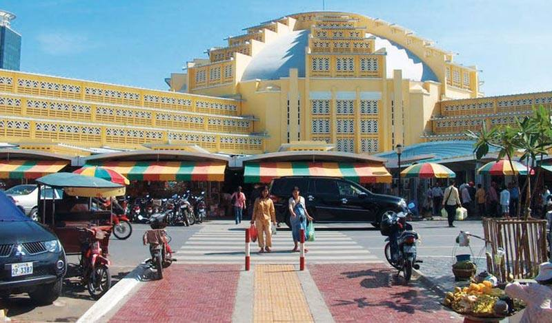 Du lịch campuchia săn hàng hiệu giá rẻ ở pnom penh