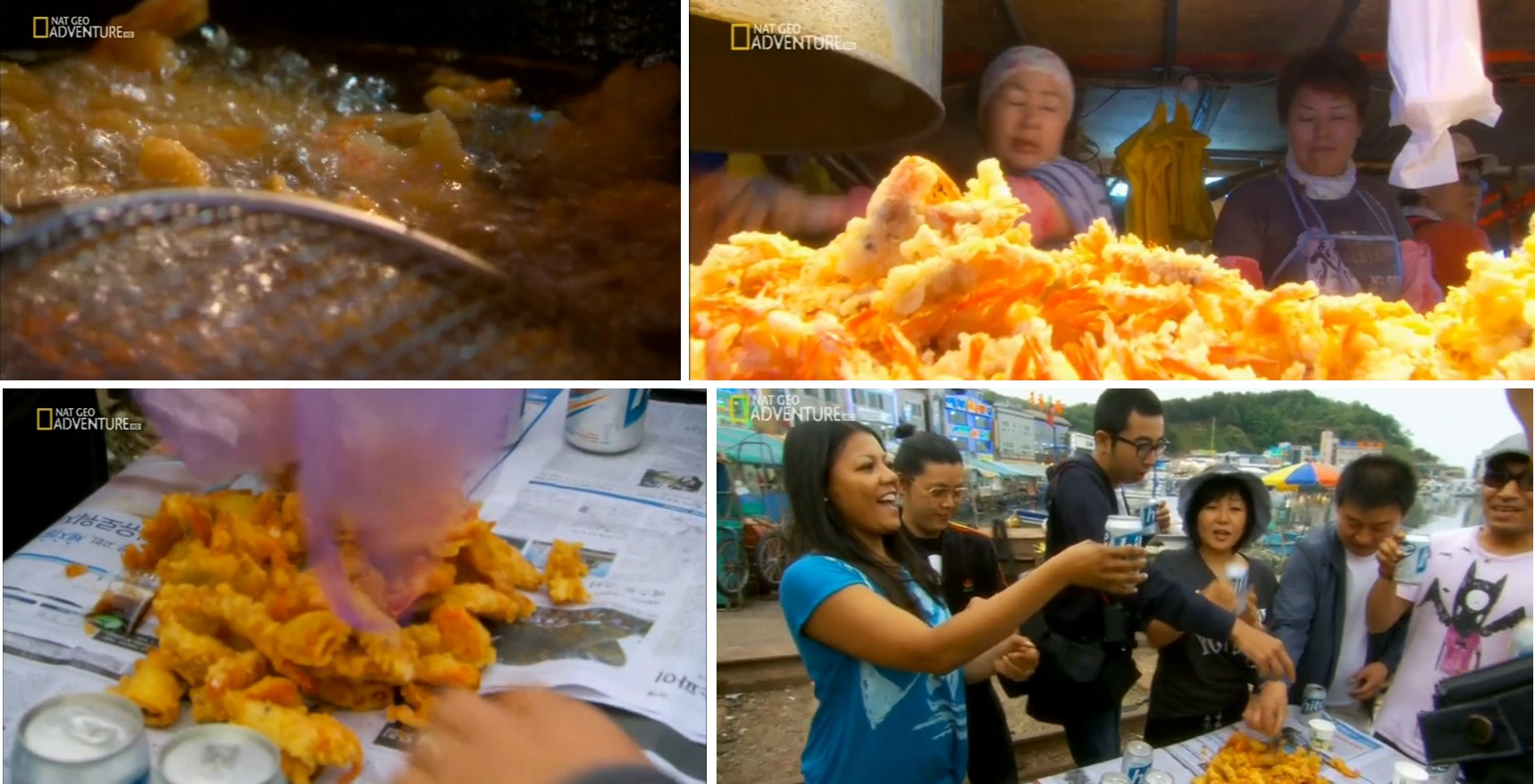 Khám phá món ăn đường phố hàn quốc qua bộ phim ký sự kim chi