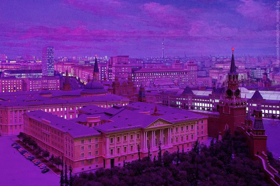 Khám phá thủ đô nga qua sa bàn moscow lớn nhất thế giới