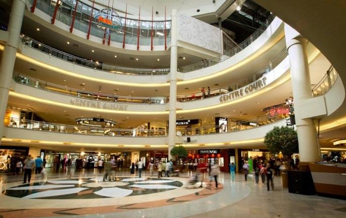 Top 10 trung tâm thương mại lớn nhất châu á