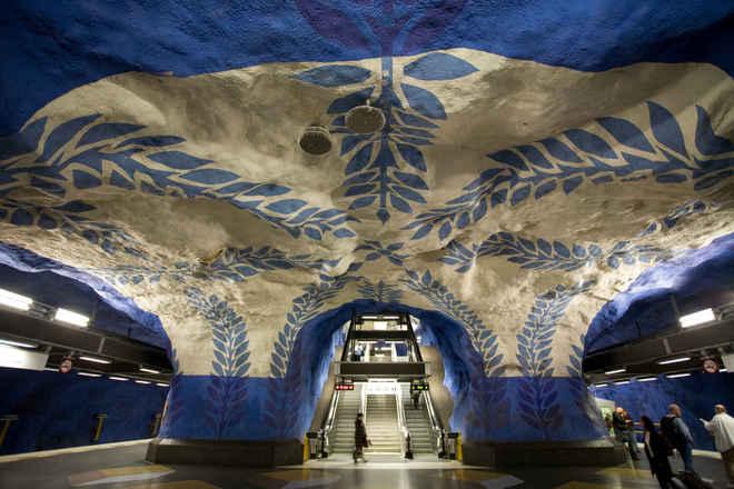 10 ga tàu điện ngầm ấn tượng trên thế giới