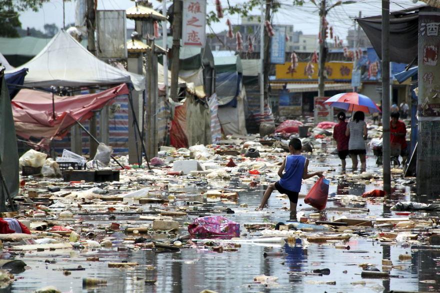 20 bức ảnh gây sốc về nạn ô nhiễm ở trung quốc
