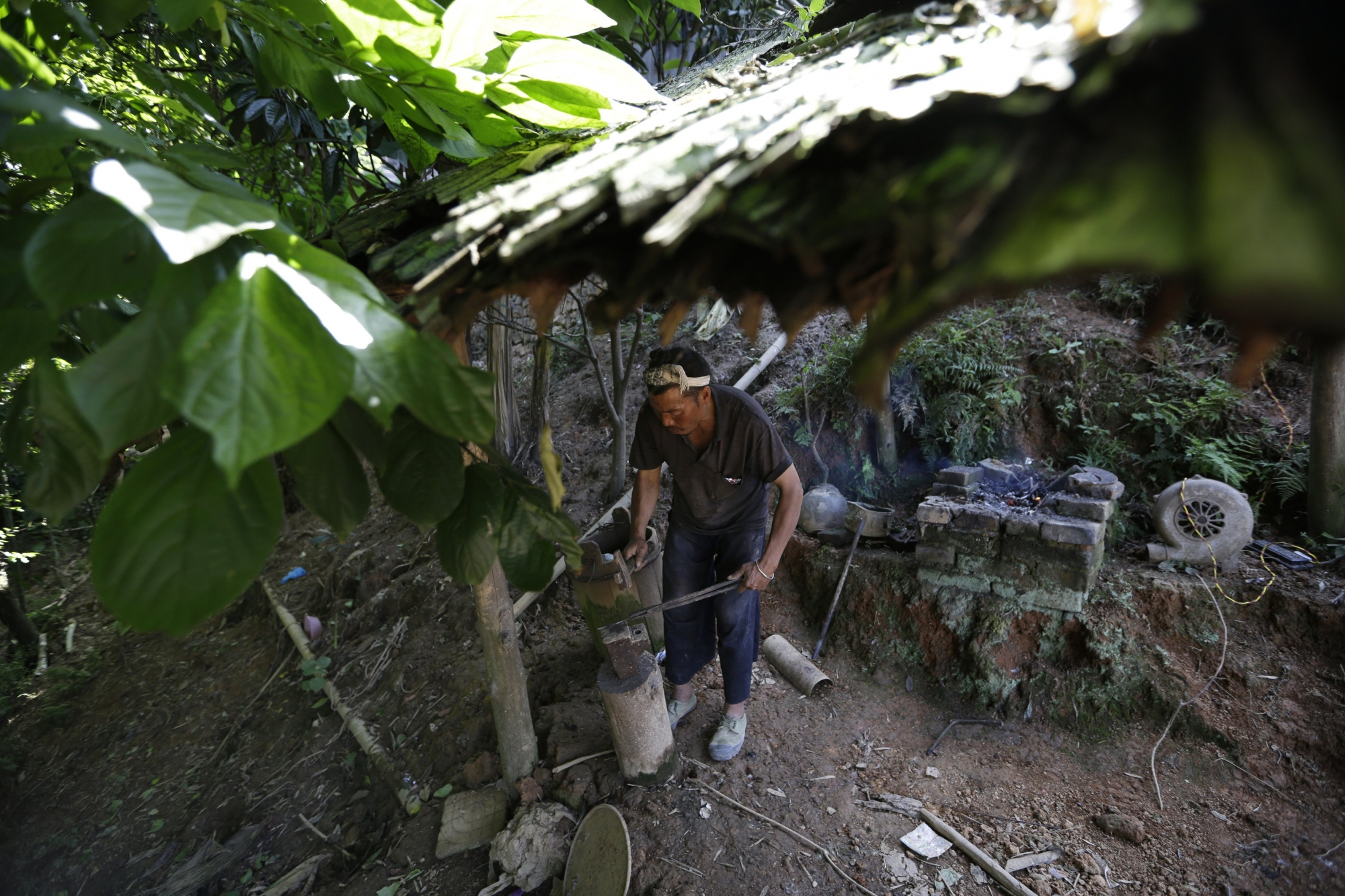Basha ngôi làng cuối cùng được dùng súng ở trung quốc