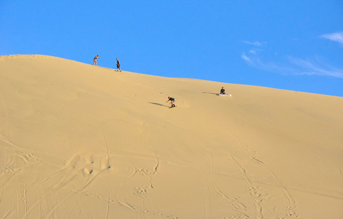 Huacachina ốc đảo giữa sa mạc peru