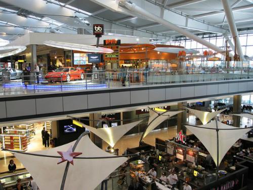 5 sân bay giải trí tốt nhất trên thế giới