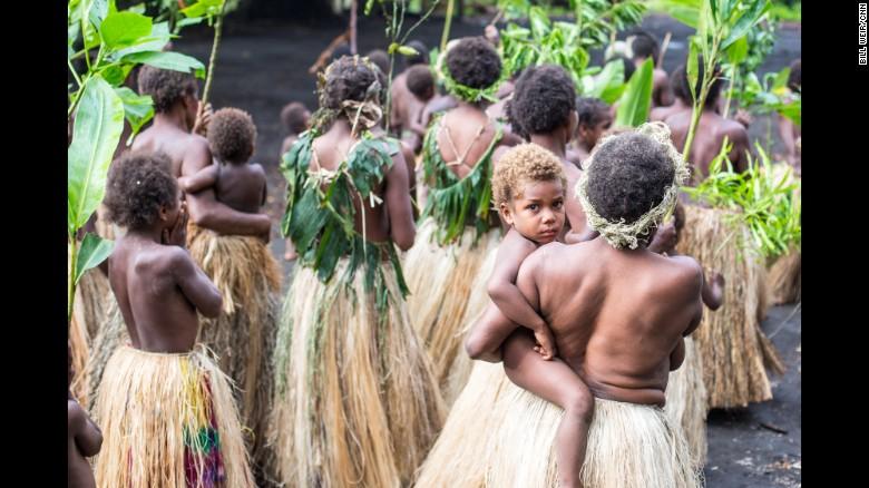 Hình ảnh đời thường về hòn đảo hạnh phúc tanna