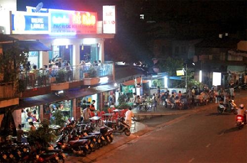 Những con phố ăn uống nổi tiếng ở sài gòn