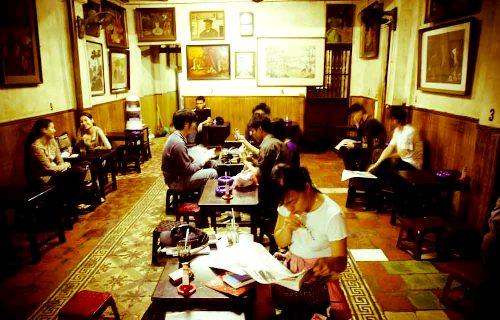 Không gian cà phê cho người yêu nghệ thuật ở hà nội