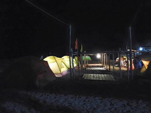 Coco beachcamp - nơi không dành cho người ngại nắng gió