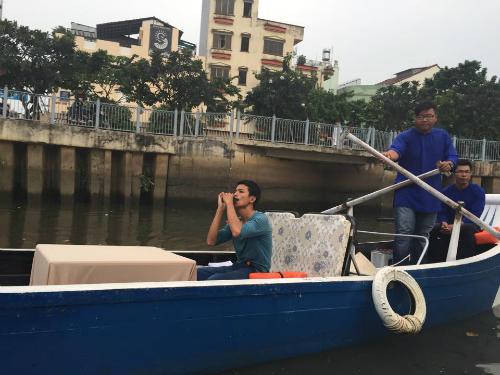 Lần đầu ngồi thuyền lênh đênh trên kênh nhiêu lộc - thị nghè