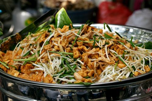 Các món ăn thái ở hội chợ ẩm thực sài gòn
