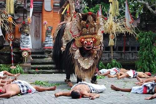 Điệu múa barong truyền thống của người bali