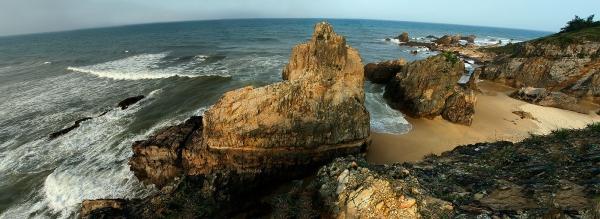 Bãi đá nhảy quảng bình tuyệt tác điêu khắc của tự nhiên