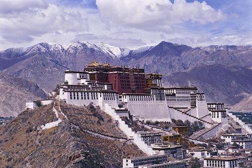 Cung điện potala bảo tàng văn hóa tây tạng