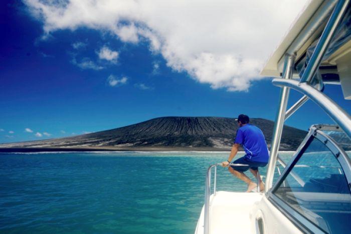 Hình ảnh thú vị về hòn đảo mới hình thành ở thái bình dương