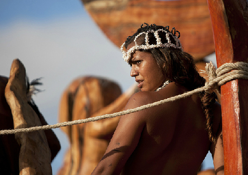 Phụ nữ bộ tộc rapa nui hấp dẫn du khách