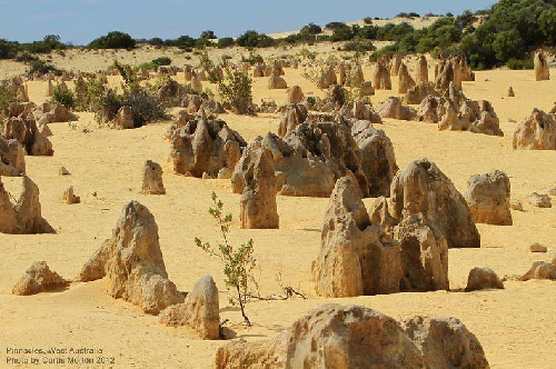 Pinnacles sa mạc kỳ lạ ở australia