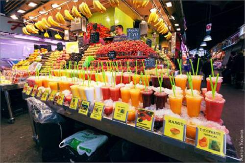 Thiên đường kẹo ngọt ở tây ban nha
