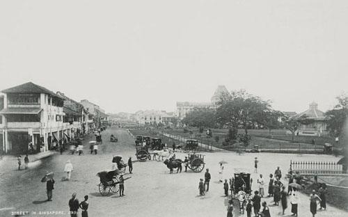 Hình ảnh singapore quá khứ và hiện tại