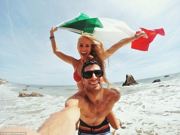 Sốt với loạt ảnh du lịch tuyệt đẹp của cặp đôi người mỹ