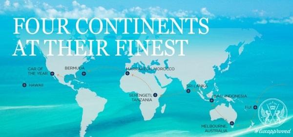 Tour du lịch tiền tỷ dành cho đại gia gây choáng của robb report