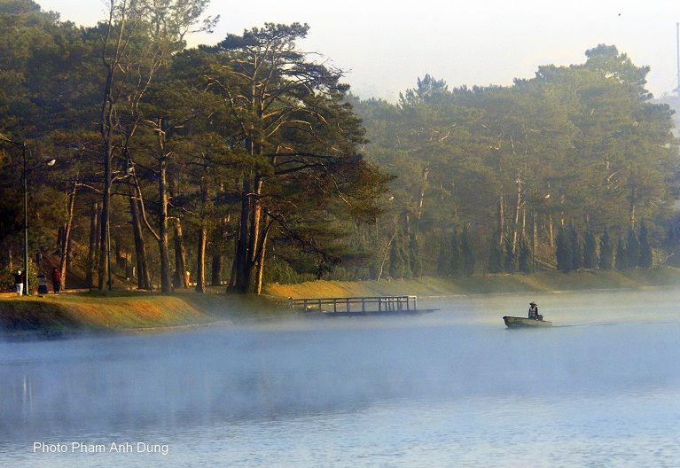 Bộ ảnh đà lạt đẹp mộng mơ trong sương mù