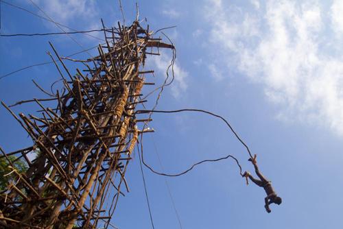 Cận cảnh nghi lễ mạo hiểm ở vanuatu
