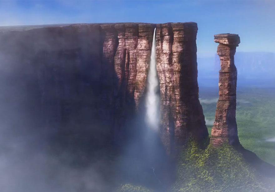 Đẹp ngất ngây 10 địa danh có thật từng xuất hiện trong các phim của disney