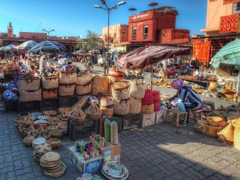 Marrakesh ma-rốc đứng đầu top điểm đến phổ biến nhất trên thế giới