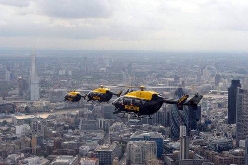 Ngắm london từ trên cao qua ống kính cảnh sát